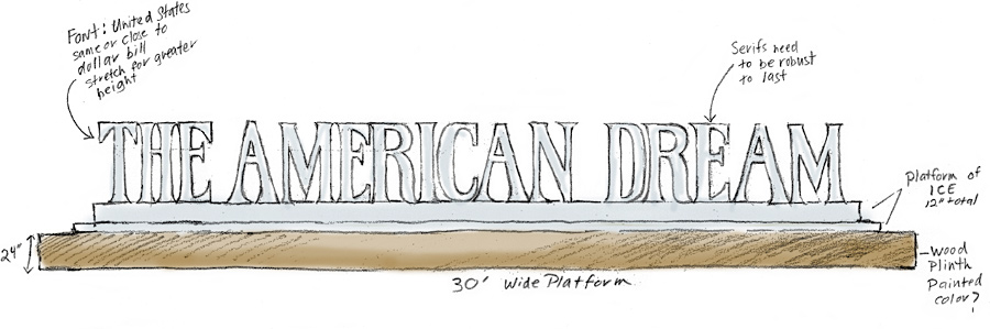 American Dream Drawing